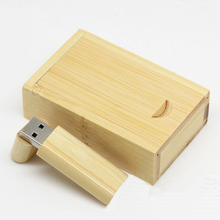 Cute Gift Wooden Creative Usb Flash Drive 3.0 Bamboo Pen Drive 32GB 64GB 128GB 512GB Pendrive 256GB Flash Memory Card Stick