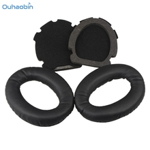 Ouhaobin Popular Replacement Ear Pads Cushion Earpads For Bose Aviation Headset X A10 A 10 High Quality Black EarPad Aug31(China)