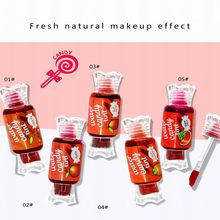 NOVO5163 Candy water does not touch cup lip gloss do not fade biting lip lipstick not stained cup lip glaze moisturizing Lip Col