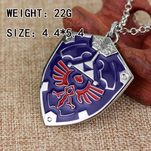 Cute Legend Of Zelda Alloy Triforce Pendant Charm Necklace High Quality Gift For Women Men Fans Game Jewelry Factory Direct Sale