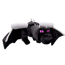 60cm Huge Big Ender Dragon Plush Toy Soft Black Enderdragon PP Cotton Dragon Toys Free Shipping