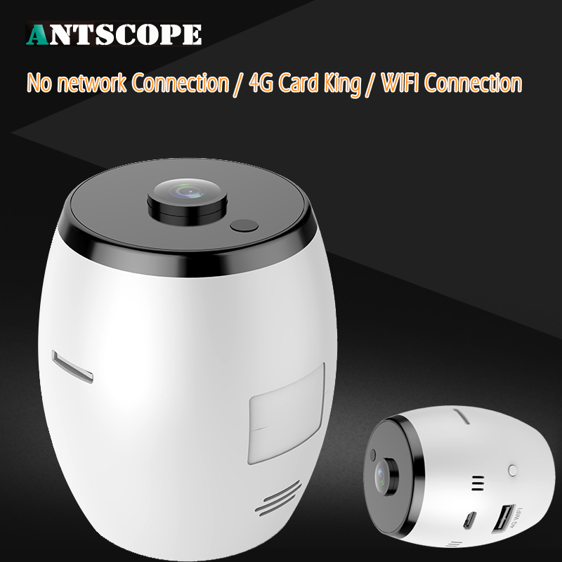 Antscope HD1080P 2MP 180 Degree Wide Angle Fisheye Network Wireless Camera Mini Wifi Smart Home Security Surveillance Cameras<br>