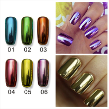 Mirror Nail Polish  Smooth And Bright Metalic Nail Polish Set Gel Water Strippable Environmental Protection Nailpolish