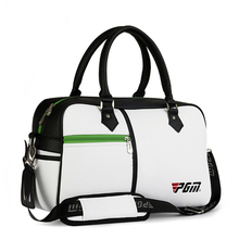 travel golf bag with Separate shoes area waterproof PU Breathable double zipper hand carry and shoulder Rivet fixed