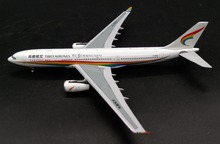 PM 1:400 Tibet Airlines Airbus A330-200 Alloy airliner model B-8950 Collection model Holiday gift