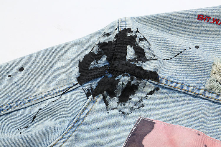 Graffiti Denim Jackets 10