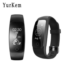 Yurkem ID 107 ID107 Plus HR Smart Bracelet Activity Tracker Pulsometer watch Heart Rate GPS Smart Band sport tester pk mi band 2(China)