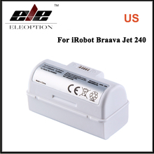 US High Quality 4446040 3.6V 5300mAh Li-ion Replacement Battery for iRobot Braava Jet 240(China)