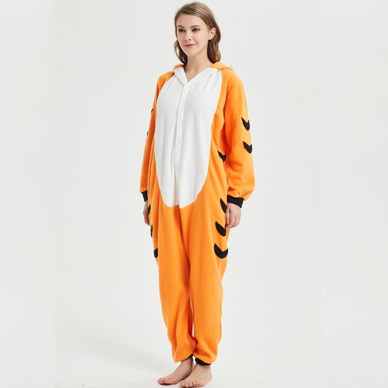 Bengal tiger adult onesie pajamas