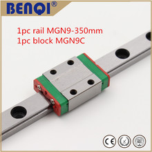 3d printer linear guide miniature linear guide  rail MGN9 L=350mm + MGN9C carriage / linear block with a low price