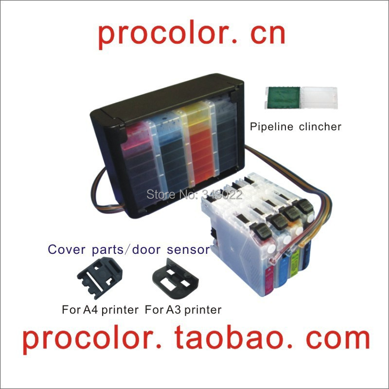 PROCOLOR  CISS LC103/LC105/LC107 With ARC chip for BROTHER MFC-J4310DW/MFC-J4410DW/MFC-J4510DWMFC-J4610DW/MFC-J4710DW<br><br>Aliexpress