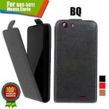 New items 100% Special Case PU Leather Flip-case Up and Down Case + Free Gift For BQ BQS-5011 Monte Carlo
