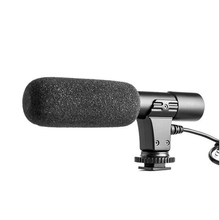 High Quality Professional Digital Video Stereo Studio 3.5mm Microphone Shotgun for Canon Nikon Pentax DSLR Cameras Camcorders
