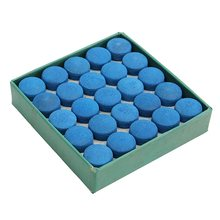 Box Of 50pcs Glue-on Pool Billiards Snooker Cue Tips 9mm 10mm 13mm(China)
