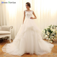 Buy Real Photo Vestido de Noiva Princess Wedding Dress 2017 Removable Tail Lace Appliques Bead Wedding Gowns Robe de Mariage for $339.00 in AliExpress store