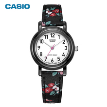 Casio watch women waterproof simple&fashion Fashion Casual Quartz Watches Clock Female Casual Leather Relogio Feminino LQ-139(China)