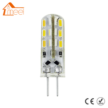 20 Pcs G4 LED Light DC 12V 3W 5W 6W LED Light SMD 3014 Silicone Corn Lamps Crystal Chandelier Lights Home Decoration Lighting