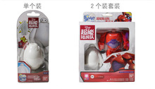 Baymax Big Hero 6 Deformation eggs two unit in one Toy for kids christmas gift