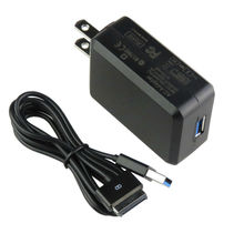15V 1.2A/5V 2A laptop AC power adapter charger for Asus Eee Pad TF101 TF201 TF300 TF700 TF300T TF700T SL101 Tablet US Plug only