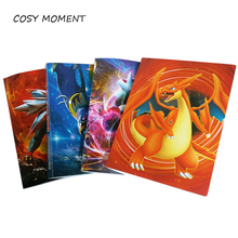 COSY MOMENT 4 Pockets /Page 112 CARDS New Style Pokemon Albums Collector Folder Album Children Scrapbook Kid Gift XC020(China)
