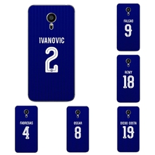 For Meizu MX4 MX5 MX6 Pro 5 6 Phone Case M1 M2 M3 Note MEILAN E Mini Shell Transparent Cover Chelsea Football Club Pattern Skin