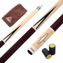 CUESOUL Center Split Pool Cue Billiard Cue America 9 Ball Cue FREE SHIPPING With Cue Joint Protector(China)
