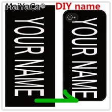 MaiYaCa Custom DIY LOGO Design Photo Case for iPhone 5 Soft Silicon TPU Back Cover Customized Printed Mobile Phone Cases(China)