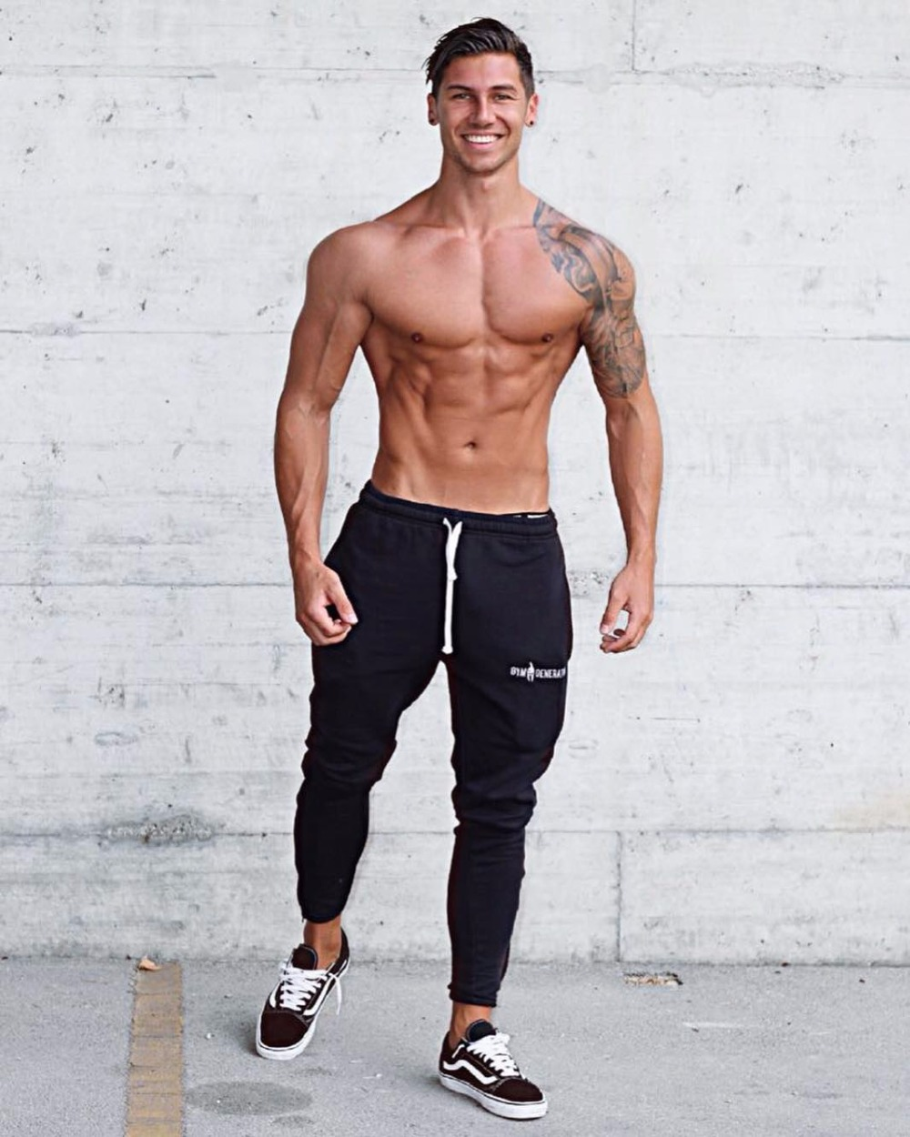 Brand Gyms Men Joggers Casual Men Sweatpants Joggers Pantalon Homme Trousers Sporting Clothing Bodybuilding Pants 23