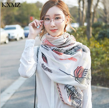 Free shipping KXMZ scarf women,echarpe homme,cotton scarves,luxury brand scarf,hair accessories UA016(China)