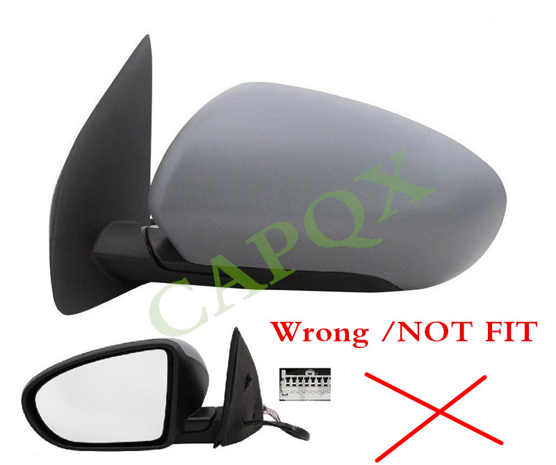 Fits Nissan Qashqai Mk2 2014-/> Electric Power Folding Wing Mirror Passenger Side
