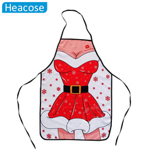 11 styles lady sexy Christmas decorations apron new year girlfriend gifts uniforms temptation dress decoration for home pinafore(China)