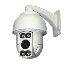Security 1080P full hd MINI IR 10X High Speed Dome Camera 2MP PTZ Camera ip ptz(China)