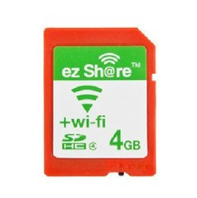 ez-Share WIFI SHARE SD 4GB CLASS4 SDHC FLASH MEMORY Card 4 GB EYE FI