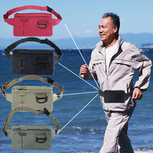 Outdoor Hiking Bag Invisible Protector Anti-theft Ultra-thin Sports Running Bags Jogging Gym Cell Phone Chest Waist Fanny Bag(China)