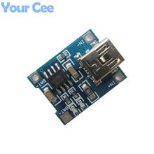 5 pcs 5V MINI USB 1A 1000mA Lithium Battery Charger Board Module TP4056 18650 Plate Interface 1A Li-ion