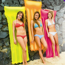 180cm Adult Floating bed tool INS Inflatable Raft Bikini Beach Swimming boat Game Float toys Summer Water pool fluorescent