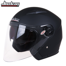 Motorcycle Helmet Male Female Four Seasons capacete para motocicleta cascos para moto Double Lens RACING HALF HELMETS