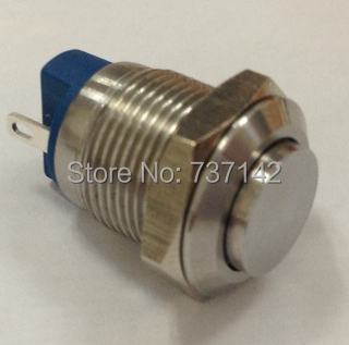 ELEWIND 12mm vandal resistant metal push button switch(PM121H-10/J/S)<br><br>Aliexpress