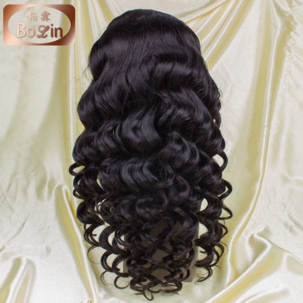 Best Virgin Glueless Full Lace Wigs Brazilian Loose Wave Curly Hair Lace Front Wigs With Natural Hairline For Black Women<br><br>Aliexpress