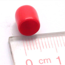 10pcs/lot Plastic covers Dust cap for SMA female RF connector red