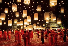 Chinese celebration  lanterns traditional chinese lantern cloth silk art wall poster and prints
