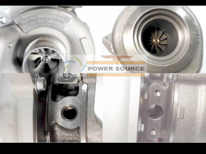 Turbo TF035H 49135-05671 49135-05610 NO Actuator Turbocharger For BMW 120D E87 04- 320D E90 E91 05- M sport M47TU 2.0L  (3)