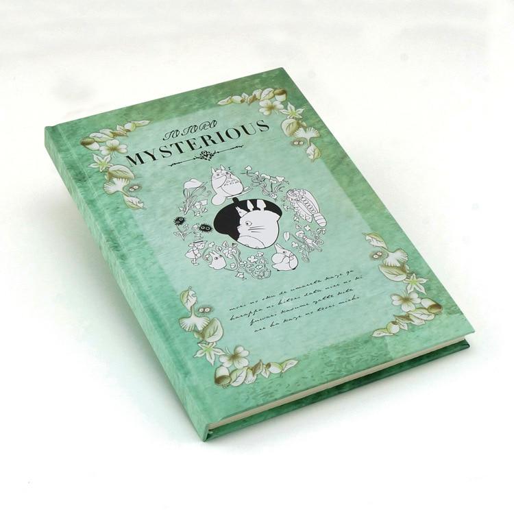 miyazaki hayao my neighbor totoro notebook anime TOTORO High-grade hardcover kraft paper notebook free shipping<br><br>Aliexpress