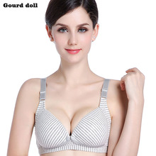 Gourd doll Wire Free Breastfeeding Maternity Nursing Bra Cotton sleep bras nursing pregnant women Pregnancy underwear clothing