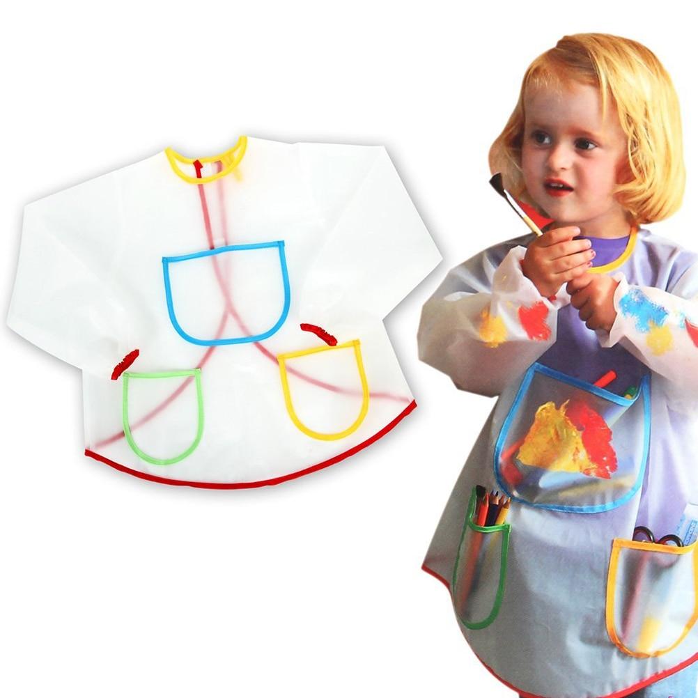 Фартук с нарукавниками детский сшить своими руками