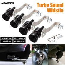 Vehemo Black Sound Whistle Turbo Whistle Best Gifts Pipe Whistle Durable Universal Car Decoration(China)