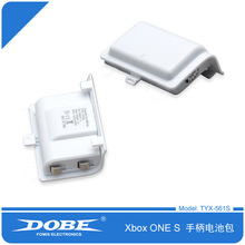 Foleto 1200mAh Rechargeable Replacement Battery Pack for XBOX ONE Controller with Charge Cable (White)(China)