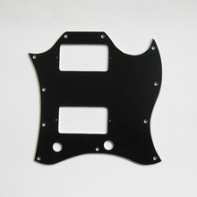 Free shipping handmade aluminum pickguard fits gibson SG electric guitars(China)