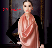 2015 MORE COLOR satin silk printe solid color shawls long plain polyester popular head muslim scarves/scarf 10pcs/lot 180*90CM(China)