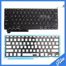 "100% Brand New For Macbook Pro 15.4"" A1286 Keyboard US Layout With Backlight Fits For Year 2009 2010 2011 2012"